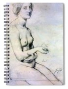 Study For Vaus Paphos Spiral Notebook