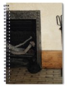 Study In Iron, Wood And Stone Spiral Notebook
