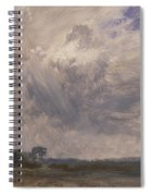 Study Of A Cloudy Sky Spiral Notebook