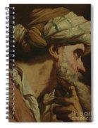 Study Of An Oriental Head Spiral Notebook