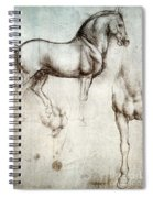 Study Of Horses 1490 Spiral Notebook