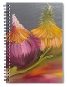 Study Of Onions Spiral Notebook