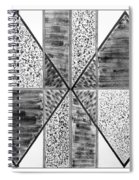 Study Of Texture Line And Materials Spiral Notebook