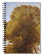 Study Of Trees 1849 Spiral Notebook