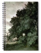 Study Of Trees Spiral Notebook