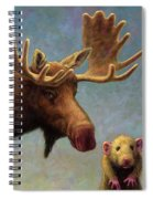 Study Of Two Mammals Spiral Notebook