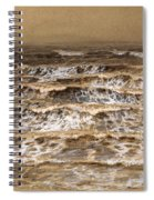 Study Of Waves Spiral Notebook