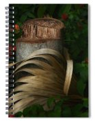 Stump And Frond Spiral Notebook