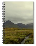 Stunning Countryside In Cuillen Hills With Large Mountains  Spiral Notebook