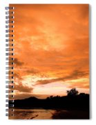 Stunning Tropical Sunset Spiral Notebook
