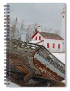 Sturgeon Point Lighthouse Spiral Notebook