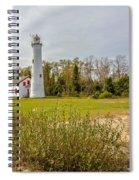 Sturgeon Point Ligthouse Lake Huron, Lower Peninsula, Mi Spiral Notebook
