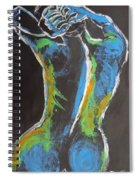 Styling Her Hair 1 - Female Nude Spiral Notebook