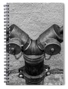 Stylish Stand Pipe Spiral Notebook