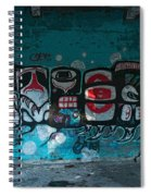 Stylized Salmon Spiral Notebook