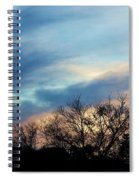 Subdued Sunset Spiral Notebook