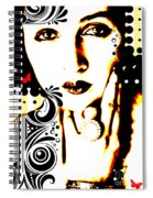 Subjected To Ink Spiral Notebook