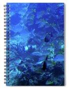Submarine Underwater View Spiral Notebook