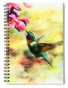 Submerged Into Sweetness Spiral Notebook
