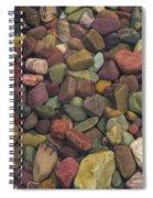 Submerged Lake Stones Spiral Notebook