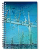 Substation Insulators Spiral Notebook