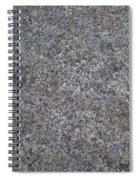 Subtle Lichen On Granite Texture Spiral Notebook