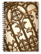 Subtle Southern Charm In Sepia Spiral Notebook