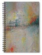 Suburb Sunset  Spiral Notebook