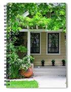 Suburban House Hayward California 17 Spiral Notebook