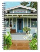 Suburban Arts And Crafts House Hayward California 8 Spiral Notebook