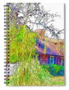 Suburban Home 3 Spiral Notebook
