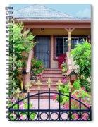 Suburban House Hayward California 38 Spiral Notebook