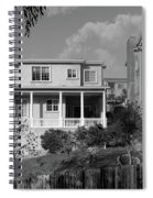 Suburban House On Hayward Boulevard Hayward California 2 Spiral Notebook