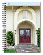 Modern Suburban House With Topiary Hayward California 31 Spiral Notebook