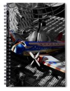 Suburban Safari  The Zebra Strikes Back Spiral Notebook
