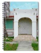 Suburban Surveillance House On Montgomery Avenue Hayward California 6 Spiral Notebook