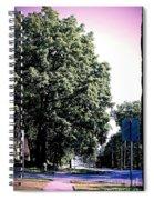 Suburban Tree Spiral Notebook
