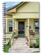 Suburban Victorian Cottage House Hayward California 37 Spiral Notebook