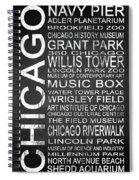 Subway Chicago 1 Spiral Notebook