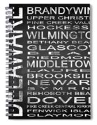Subway Delaware State Square Spiral Notebook