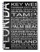 Subway Florida State 3 Square Spiral Notebook
