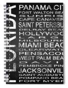 Subway Florida State Square Spiral Notebook