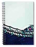 Subway In The Sky Spiral Notebook