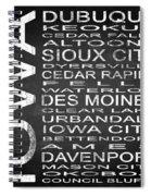 Subway Iowa State Square Spiral Notebook