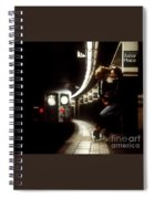 Subway Lovers Spiral Notebook