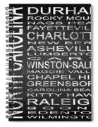 Subway North Carolina State Square Spiral Notebook