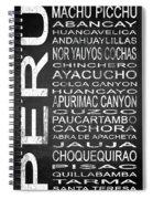 Subway Peru 3 Spiral Notebook