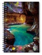 Subway Sanctum Spiral Notebook