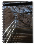 Subway Stairs Spiral Notebook
