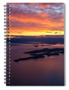 Sucia Sunset Spiral Notebook